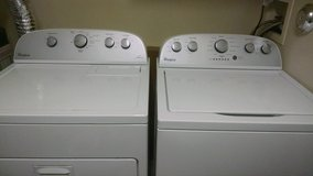 Whirlpool Cabrio Top Load Washer/Dryer Pair in Bolling AFB, DC