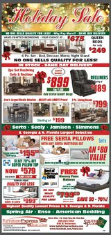 END OF YEAR DEALS AT THEIR LOWEST PRICE in Moody AFB, Georgia