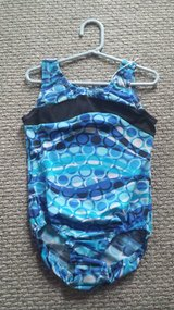 Blue Circles Leotard Sz Child 12 in Chicago, Illinois