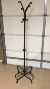 Coat rack in Fort Rucker, Alabama