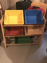Pottery Barn Storage- Wood not plastic! in St. Charles, Illinois