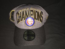 Cubs World Series Locker Room Hat in DeKalb, Illinois