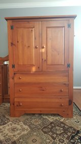 Real Wood Mirror Dresser & Door Chest in Bolling AFB, DC