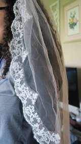 New Mantilla wedding veil in ivory in DeKalb, Illinois