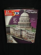 U.S. Capitol 3D Puzzle by Wrebbit Over 2.5 Feet Wide NEW in Aurora, Illinois