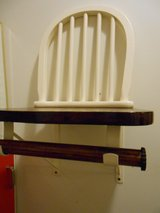 Chair Shelf w/Towel Bar in Cherry Point, North Carolina