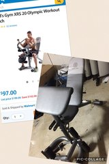 Gold Gym XRS 20 weight bench. in Lake Elsinore, California