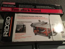 Brand New Rigid Table Saw with Stand in Fort Rucker, Alabama