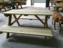 4' child's picnic table in The Woodlands, Texas