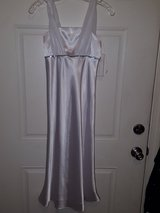Girls size 9/10 white Satin in Fort Irwin, California