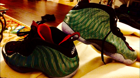 Foamposite Gone fishin in Vicenza, Italy