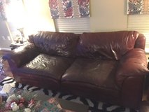 $300 OBO 4 Piece Leather Family Room Set in Fairfax, Virginia