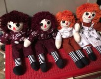 Raggedy Ann  and Andy dolls in Alvin, Texas