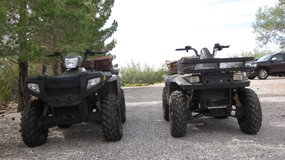 TWO 4X4 ATV'S WITH BLADE in Alamogordo, New Mexico