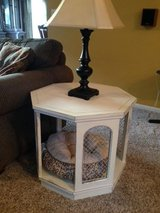vintage side table/pet bed in Chicago, Illinois