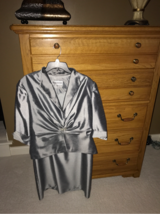 Silver/Pewter Evening dress in Naperville, Illinois