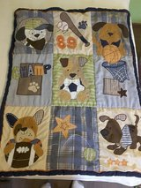 Lambs & Ivy Bow Wow 11-piece Crib Bedding Set in Colorado Springs, Colorado