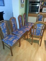 Dining room chairs (6) in Ramstein, Germany