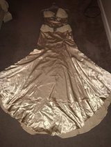 Champagne Formal Dress    Women's Size 8 in Fort Benning, Georgia