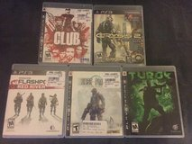 PS3 games in Fairfield, California