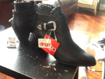 Blk ladies dress boots by dingo brand new in New Lenox, Illinois