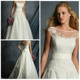 Alfred Angelo Wedding Dress Brand New never worn one time in Riverside, California