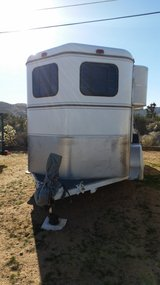 Horse trailer in Yucca Valley, California