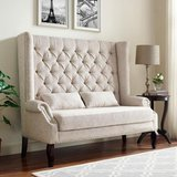NEW! UNIQUE SOFA TUFTED BENCH WITH NAILHEADS! in Vista, California