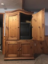 Cabinet and TV in Tinley Park, Illinois