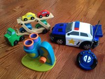 Melissa & Doug car carrier, Remote Cop Car, Microcope in Lockport, Illinois