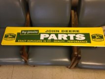 John Deere Metal Sign in Leesville, Louisiana