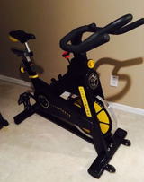 LiveStrong commercial Spin bike in MacDill AFB, FL