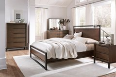 BLOWOUT SALE! 30-50% OFF RETAIL! QUEEN CONTEMPORARY UPSCALE BED SET!! NEW!! in Camp Pendleton, California