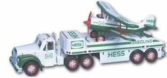 2003 Hess Gas Christmas truck - truck& trailer with Bi plane in Camp Pendleton, California
