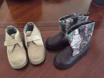 2 PR OF NEW TODDLER BOOTS SIZE 9 in Batavia, Illinois