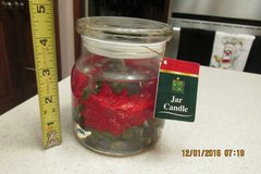 Poinsettia Jar Candle - NWT in Kingwood, Texas