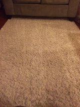 Mohawk cream shag 5x7 area rug in Great Lakes, Illinois