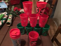 Christmas cups and travel mug in Joliet, Illinois