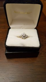Zales diamond engagement ring in Chicago, Illinois