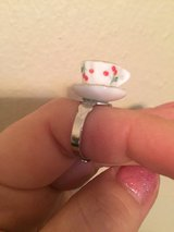 Tea cup ring (adjustable) in Houston, Texas