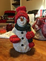 Snowman in Camp Lejeune, North Carolina
