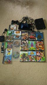 playstation2 slim + 17 games + 2 controllers+accessories in Wilmington, North Carolina