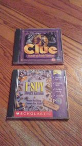 """""""Clue and I Spy"""" computer games in Baytown, Texas"""