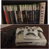 Xbox 360 console and over 20 games in Camp Pendleton, California