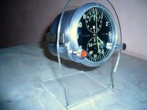 Cold War Era, Full Mil. Spec. Russian/Soviet Mig Fighter/Bomber Cockpit Chronometer with 2 Day M... in Ramstein, Germany