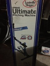 Louisville Slugger Pitching Machine UPN45- Spring loaded- Like New Condition in Kingwood, Texas