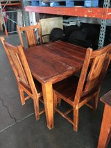 table and chairs in Temecula, California
