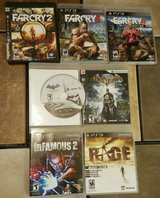 SEVEN PS3 GAMES LIKE NEW in Camp Lejeune, North Carolina