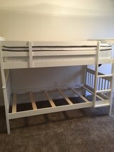 Twin White Bunk Beds in Davis-Monthan AFB, Arizona