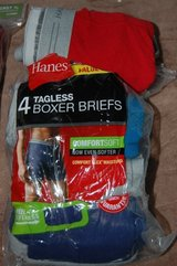 Mens underwear Hanes 2 Pairs. Size 3XL 48-50.   New in package in Bolingbrook, Illinois